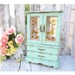 SHABBY CHIC Jewelry Box / Armoire - $129.00